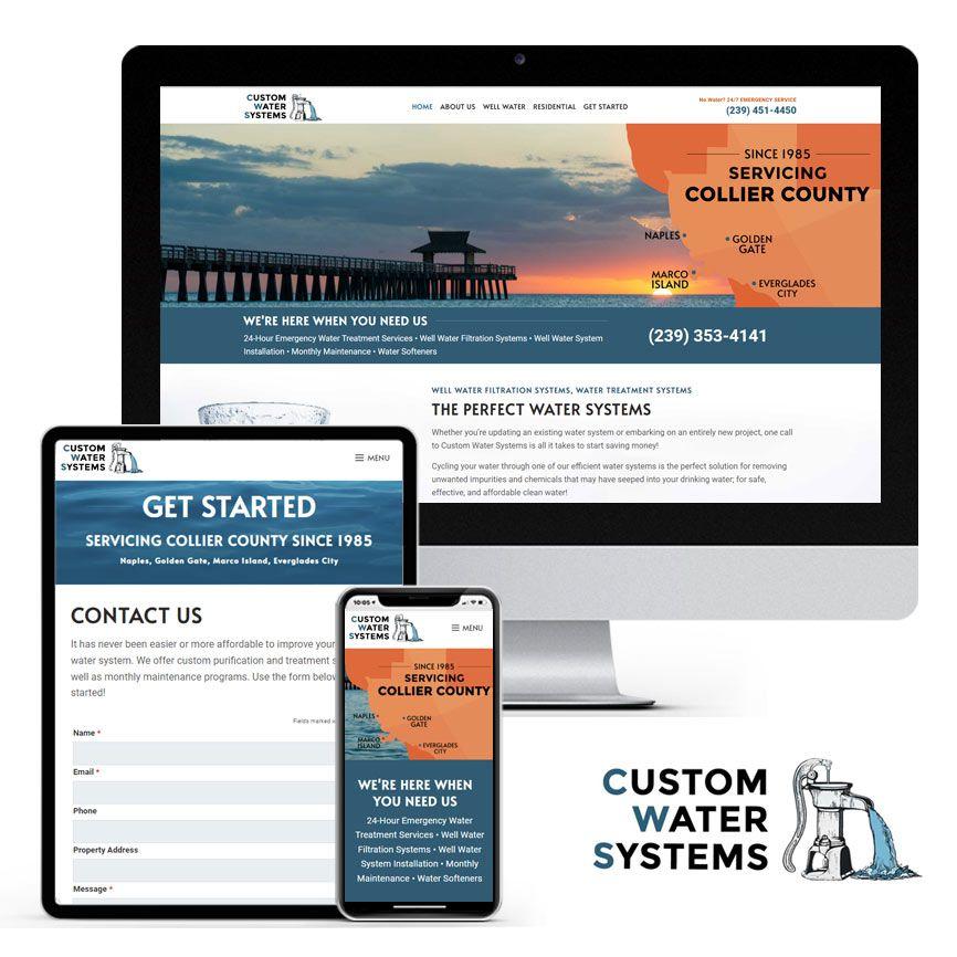 2020 WordPress Water Treatment Website Design Portfolio | RGB Internet Systems, a Florida Website Design Company