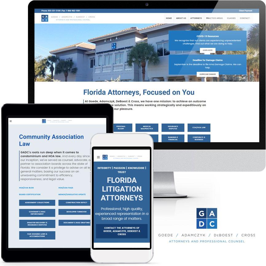2020 WordPress Lawyer Website Design Portfolio   RGB Internet Systems, a Florida Website Design Company