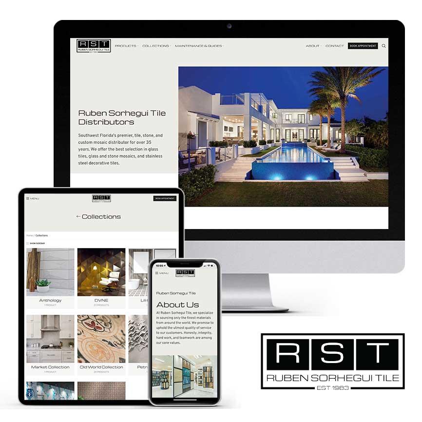 2021 WordPress Website Portfolio: Ruben Sorhegui Tile | RGB Internet Systems, a Florida Website Design Company