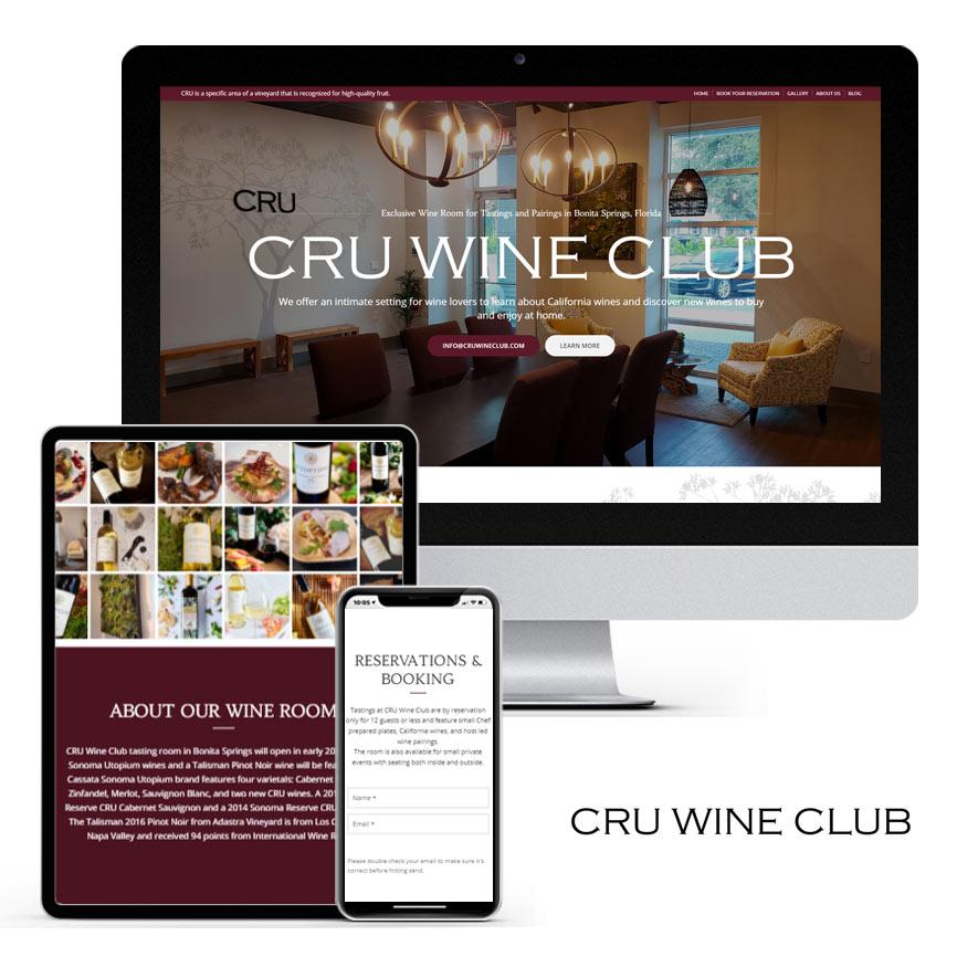 2020 WordPress Wine Club Website Design Portfolio | RGB Internet Systems, a Florida Website Design Company