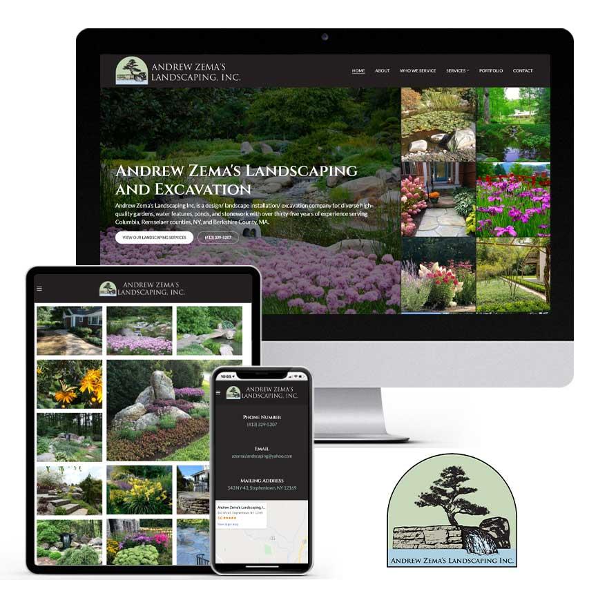 2020 WordPress Landscaping Website Design Portfolio | RGB Internet Systems, a Florida Website Design Company