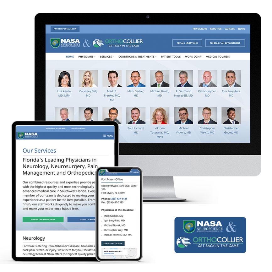 2021 WordPress Website Design Portfolio for Medical Company   RGB Internet Systems, a Florida Website Design Company