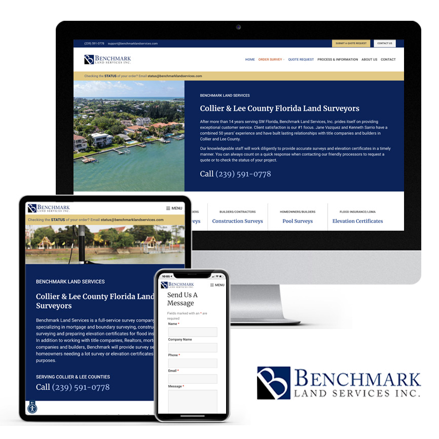 Benchmark Land Services | RGB Internet Systems