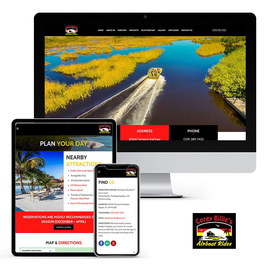 2021 WordPress Website Design Portfolio   RGB Internet Systems, a Florida Website Design Company