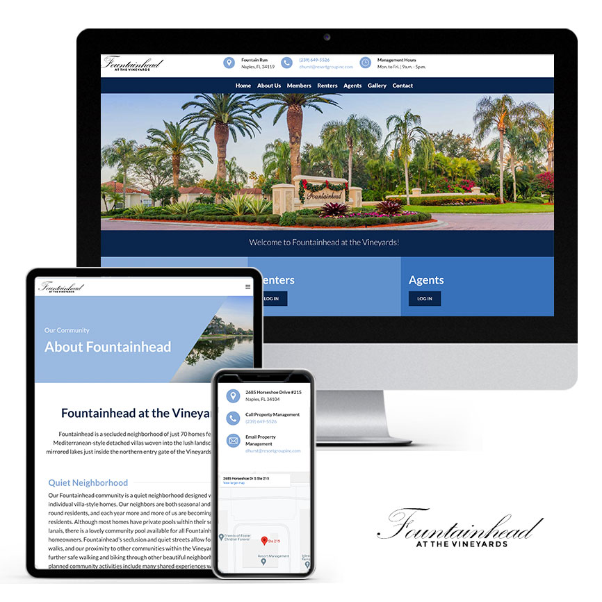 2021 WordPress Community Association Website Design Portfolio | RGB Internet Systems, a Florida Website Design Company