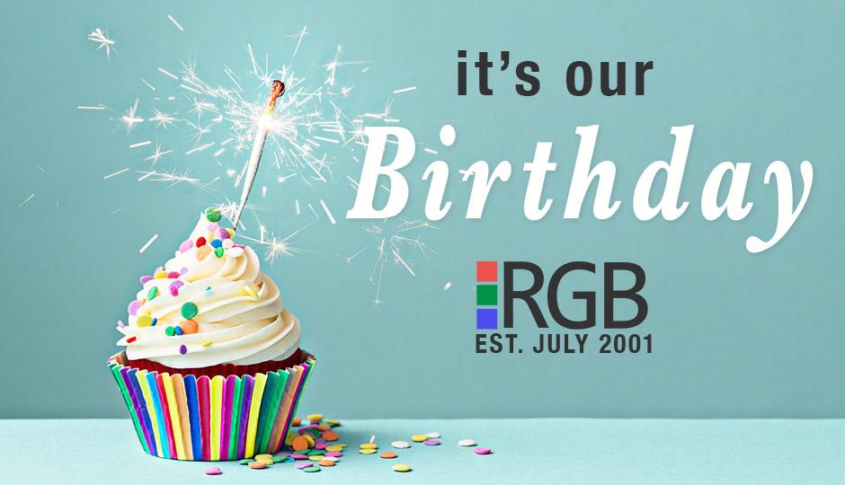 RGB Internet Systems Birthday