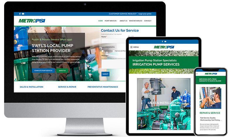 Fort Myers Web Design Company Portfolio | RGB Internet Systems