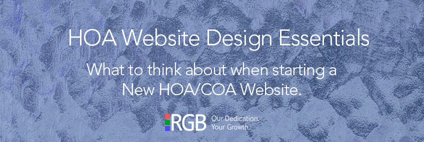 HOA Website Design Essentials
