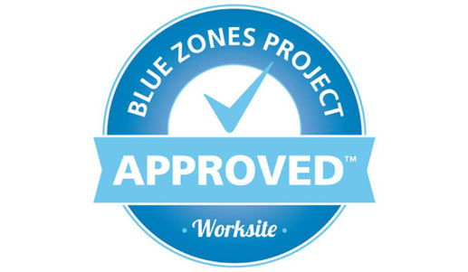 Blue Zones Approved Worksite Badge | RGB Internet Systems