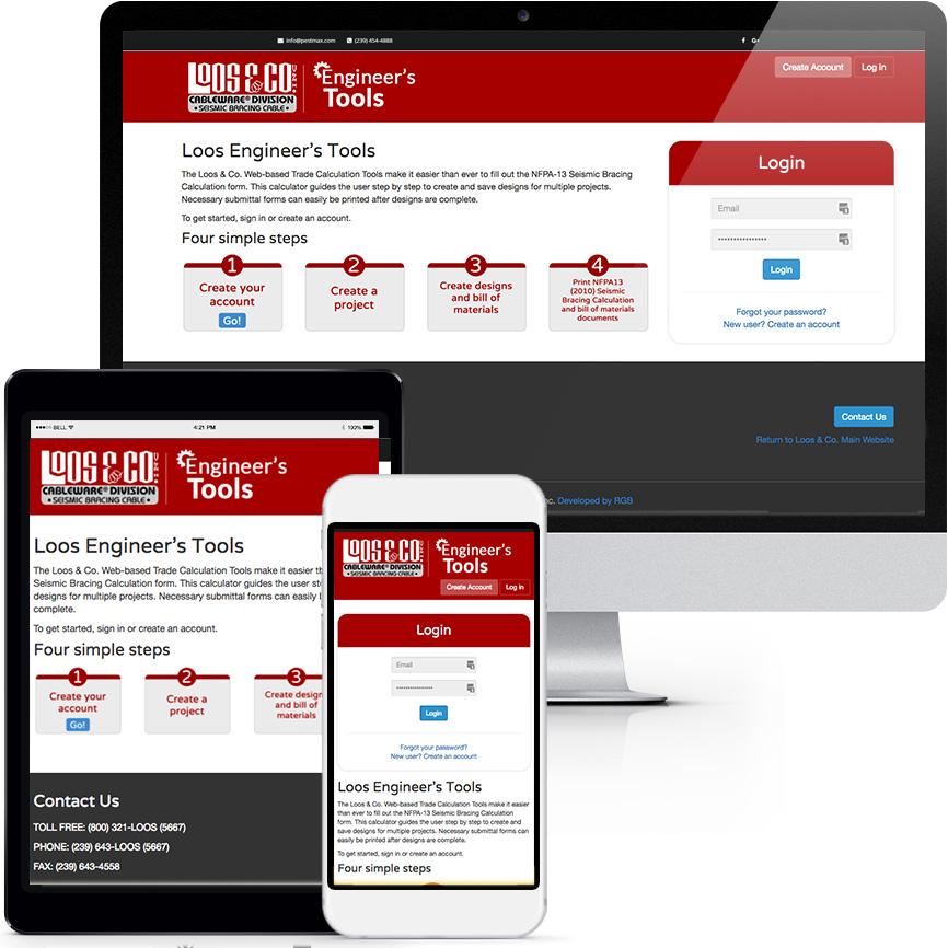 Custom Development Portfolio S543 Tools | RGB Internet: A Florida Website Design Company