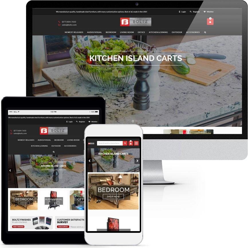eCommerce Website Design Portfolio S600 | RGB Internet: A Florida Web Design Company