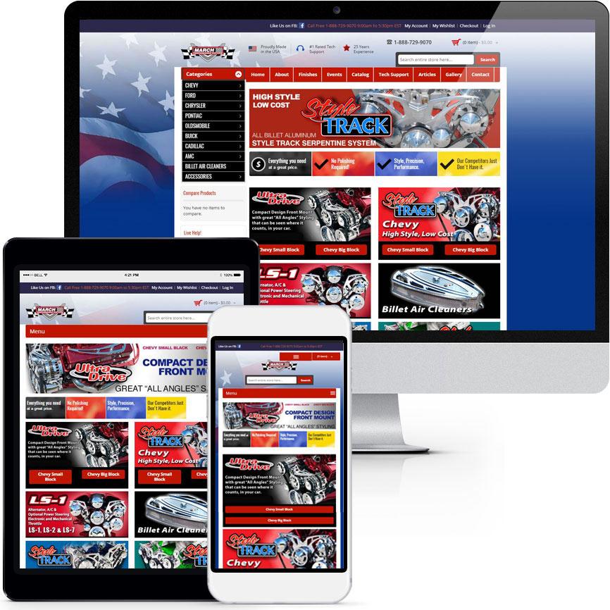 eCommerce Website Design Portfolio S604 | RGB Internet: A Florida Web Design Company