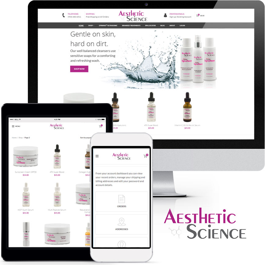 eCommerce Website Design Portfolio S914 | RGB Internet: A Florida Web Design Company