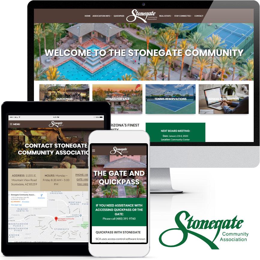 HOA & COA Website Design Portfolio S1001 | RGB Internet: A Florida Website Design Company