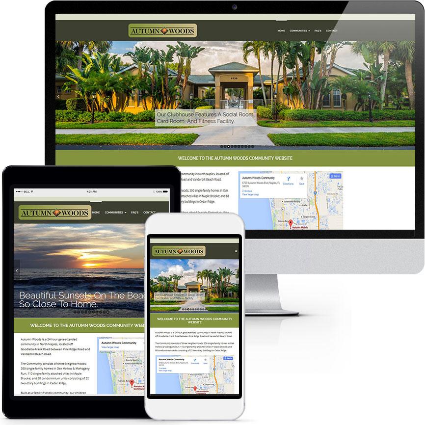 RGB Internet Systems HOA & COA Website Design Portfolio S784 | RGB Internet: A Florida Website Design Company