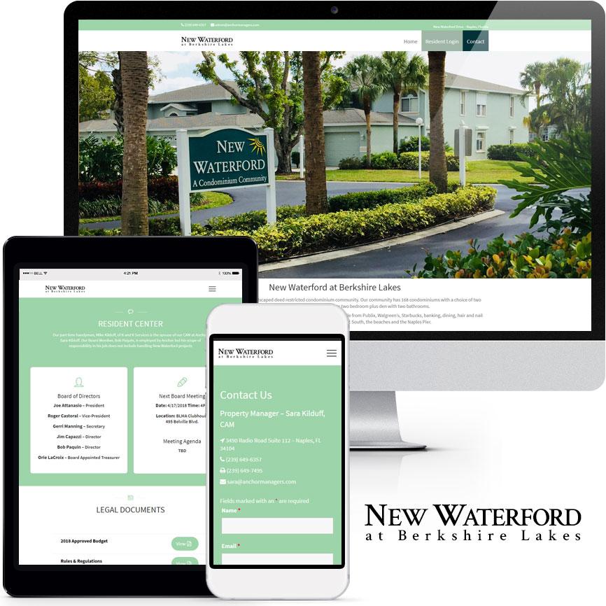 HOA & COA Website Design Portfolio S912 | RGB Internet: A Florida Website Design Company