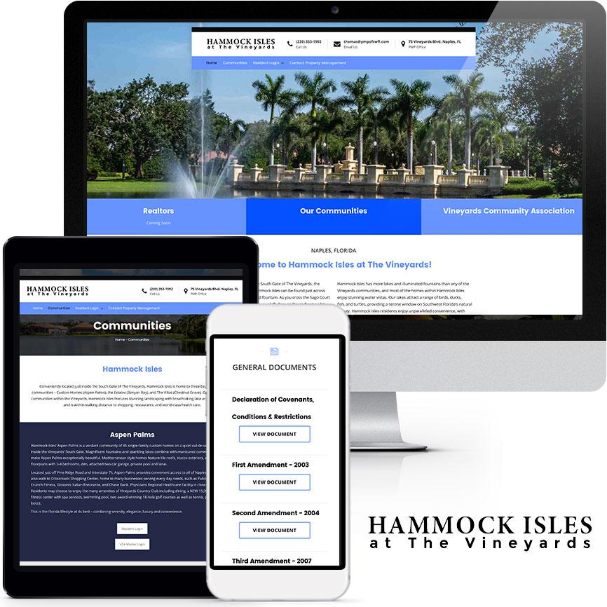 HOA & COA Website Design Portfolio S946 | RGB Internet: A Florida Website Design Company