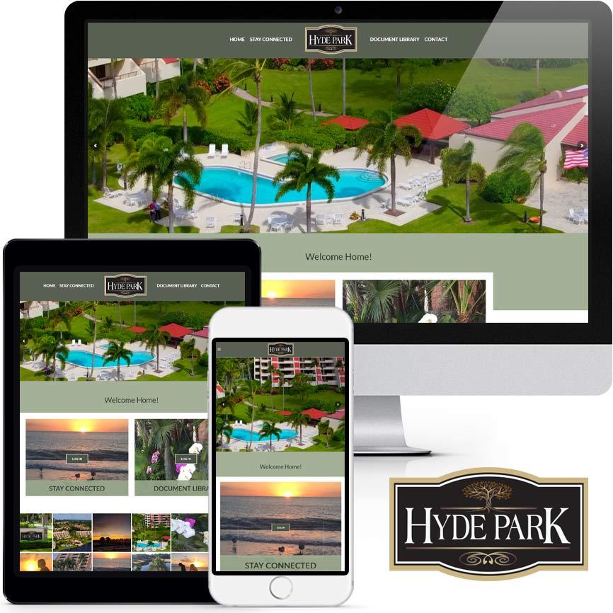 HOA & COA Website Design Portfolio S997 | RGB Internet: A Florida Website Design Company