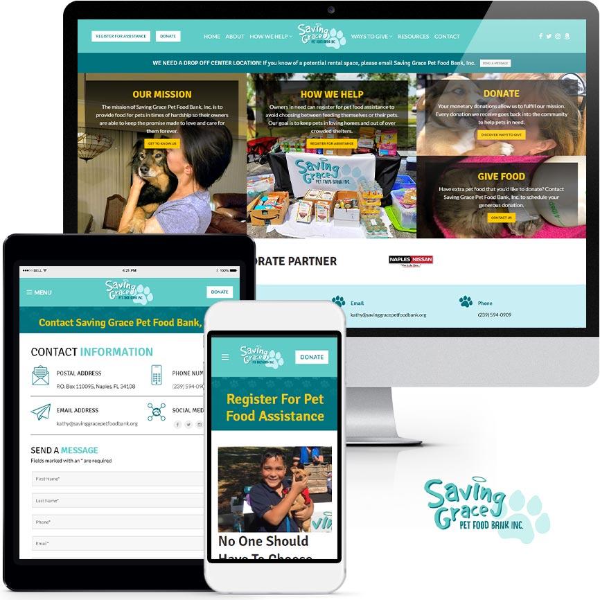Non-Profit Website Design Portfolio S984 | RGB Internet: A Florida Website Design Company
