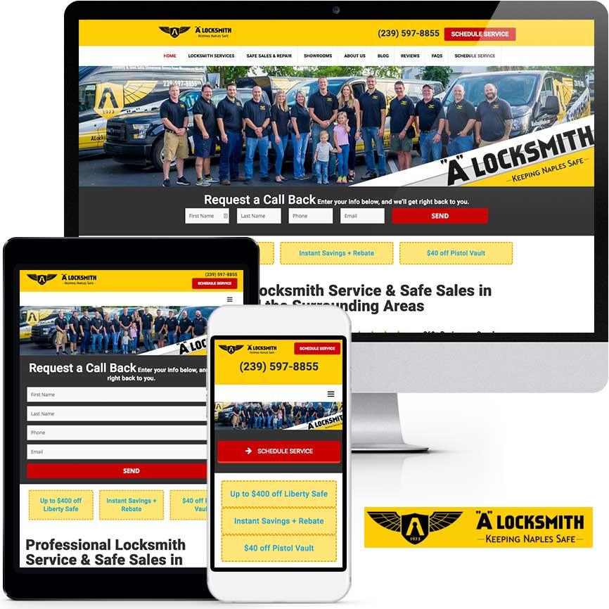 WordPress Website Design Portfolio S703 | RGB Internet: A Florida Website Design Company