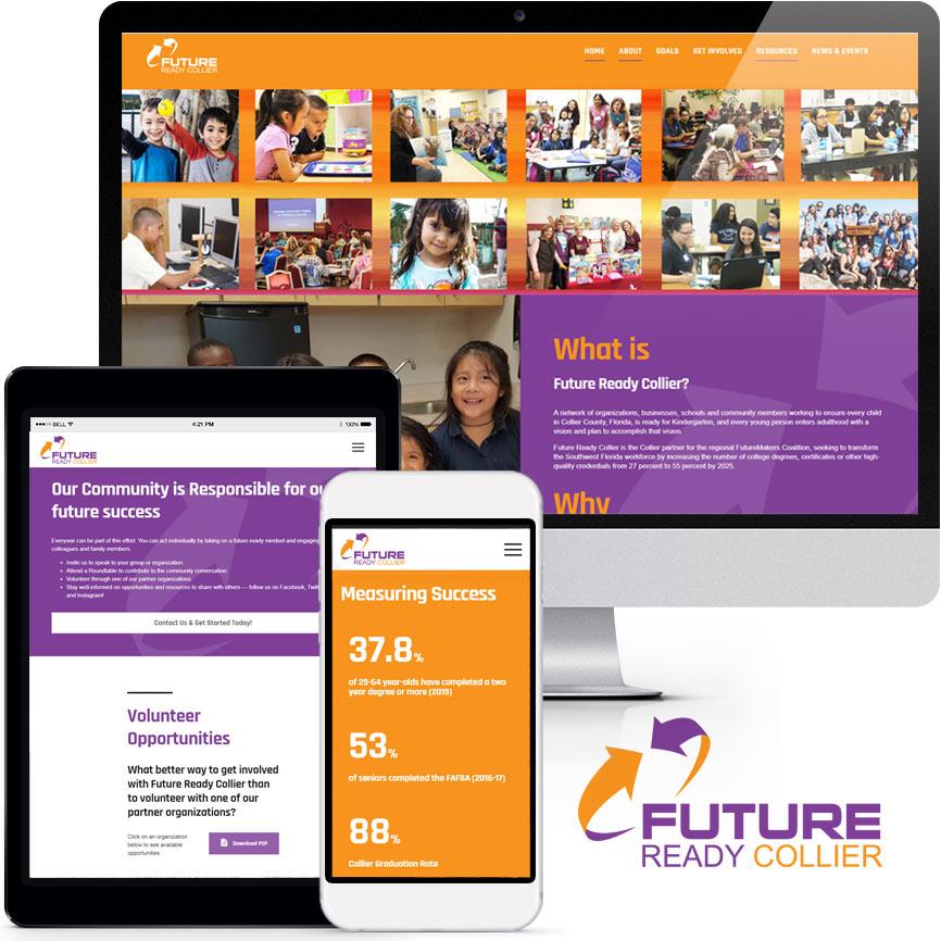 Non-Profit Website Design Portfolio S880 | RGB Internet: A Florida Website Design Company