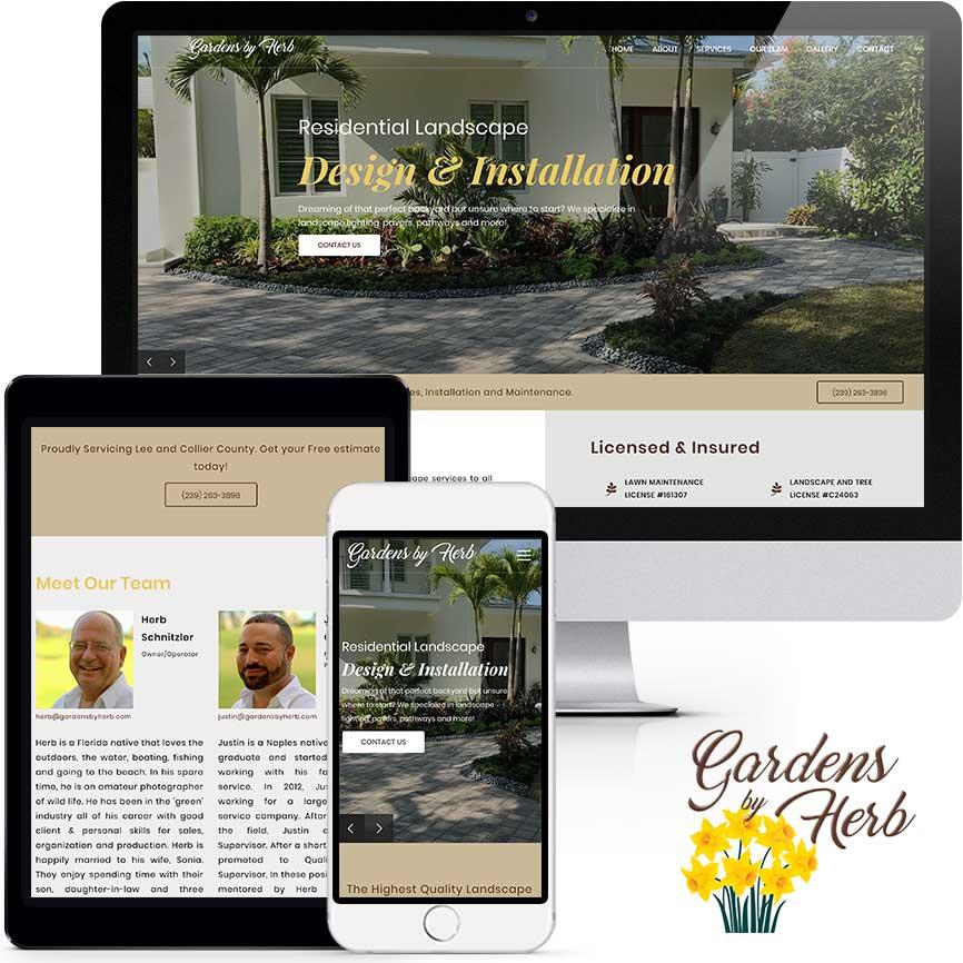 WordPress Website Design Portfolio S890   RGB Internet: A Florida Website Design Company