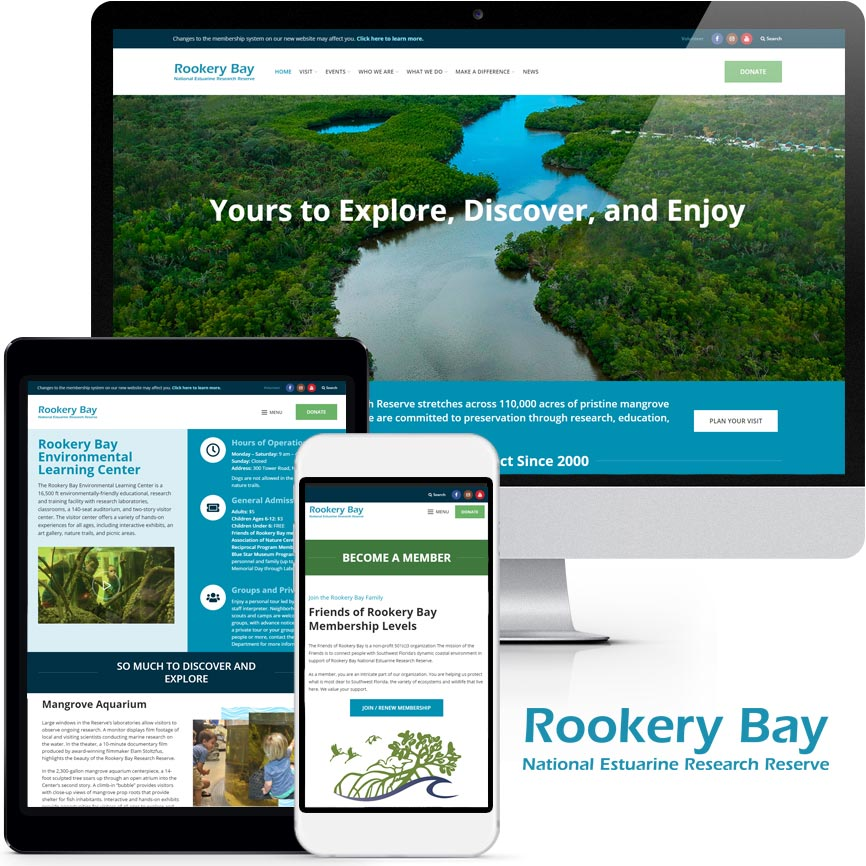 WordPress Website Design Portfolio S601 | RGB Internet: A Florida Website Design Company