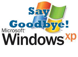 Support for Window XP ends April 8, 2014